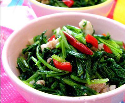 肉沫萝卜菜的做法步骤_3