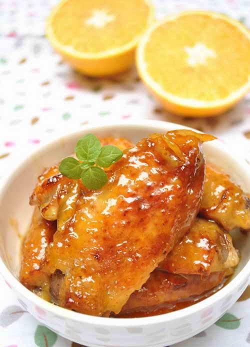 香橙鸡翅的做法步骤_1