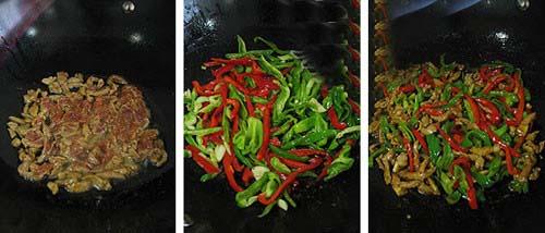 家常青椒肉丝的做法步骤_2