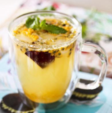 蜂蜜柚子黑布林冰饮的做法步骤_1