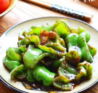 豆豉青椒的做法步骤_1