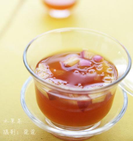 秋日香橙水果茶的做法步骤_1