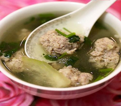 【冬瓜丸子汤】冬瓜丸子汤的做法大全