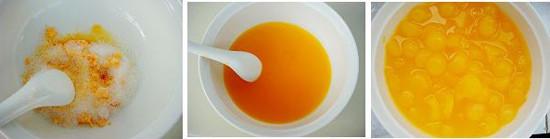 橙汁冬瓜球的做法步骤_2