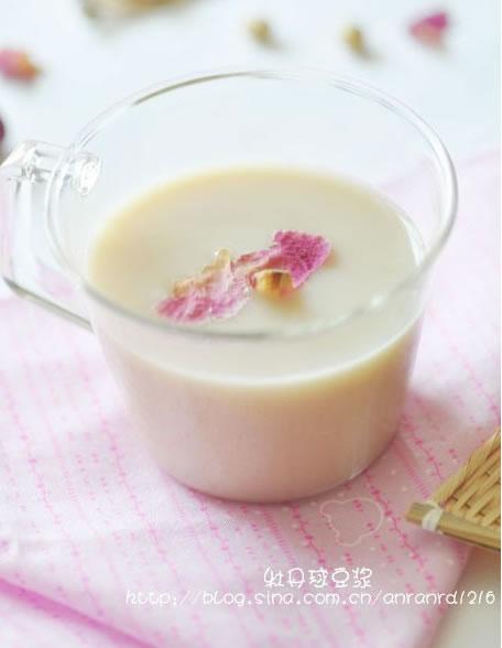 牡丹球豆浆的做法大全_牡丹球豆浆的家常做法怎么做好吃