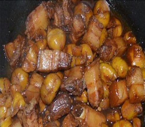 栗子焖肉的做法步骤_8