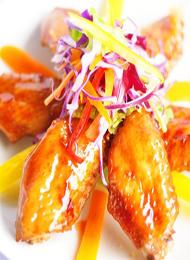 自制泰国人气美味 烤鸡翅