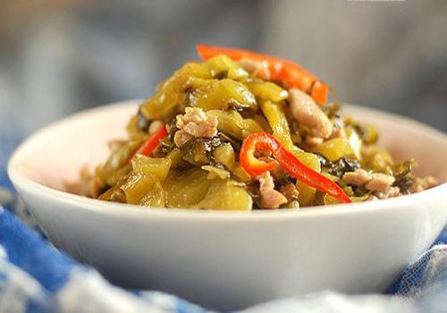 【酸菜炒肉丝】酸菜炒肉丝的做法大全