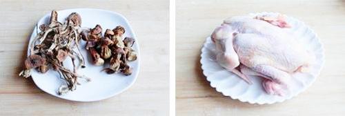 纯天然的营养汤 野山菌鸡汤_2