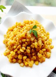 夏日夜宵菜 金沙玉米