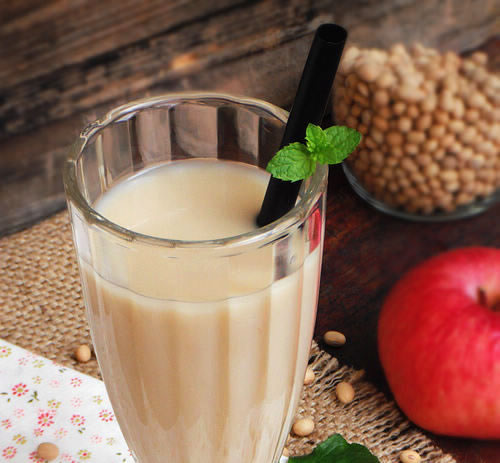 苹果豆浆的做法大全_苹果豆浆的家常做法怎么做好吃