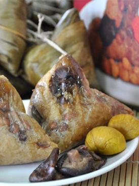 香菇猪肉粽子