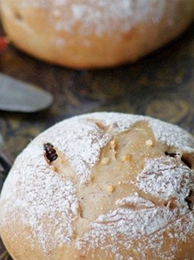 欧式红酒葡萄干面包