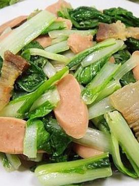 腊肉火腿炒白菜