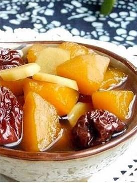 红枣南瓜姜汤