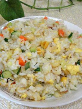 海鲜味蛋炒饭