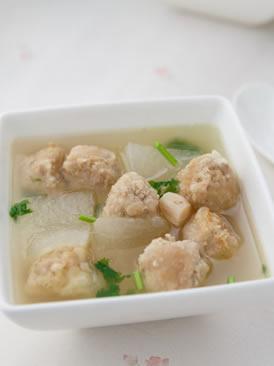 肉丸冬瓜汤