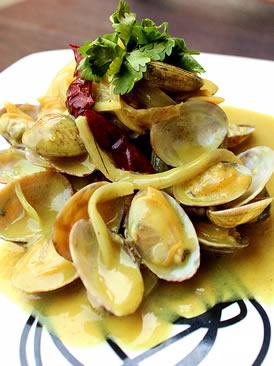 咖喱香茅煮花蛤