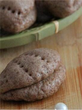 红豆薏米贝壳饼