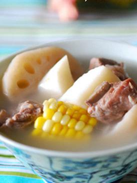 莲藕山药肉排汤