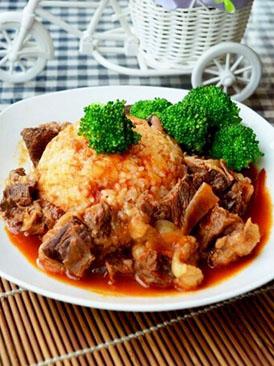 茄汁牛肉饭
