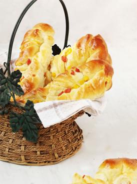 火腿玉米面包條