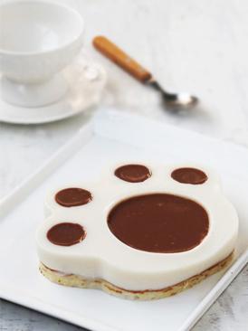 爪印慕斯蛋糕