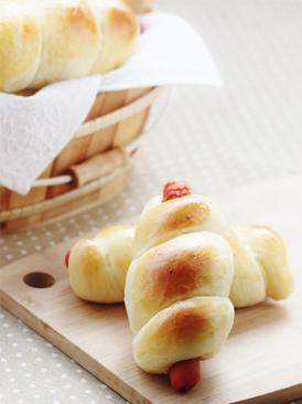 肠仔面包卷