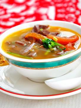 西红柿羊肉汤