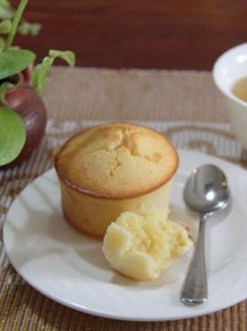椰丝麦芬蛋糕