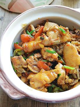 沙姜啫啫鸡