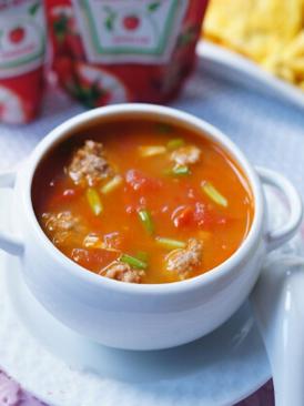 番茄肉丸汤
