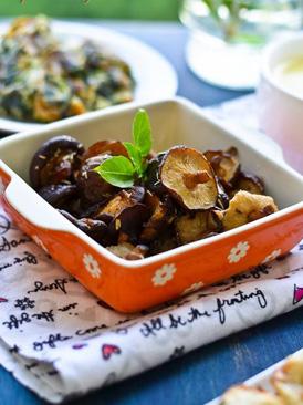 迷迭香烤香菇