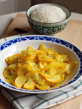 清炒香蕉西葫芦