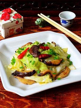香菇手撕包菜