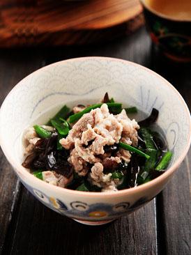 韭菜木耳羊肉汤