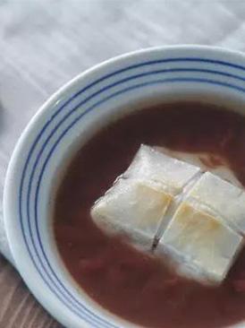 日式年糕红豆汤