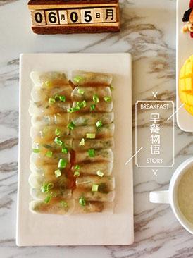 清蒸水晶萝卜肉卷