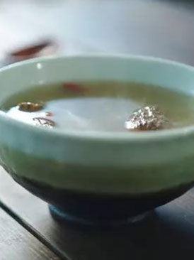 羊肚菌排骨湯