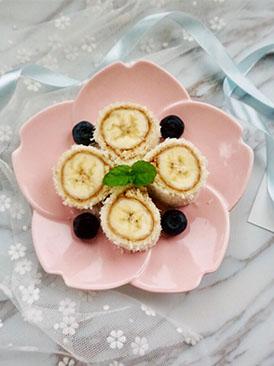 椰蓉香蕉吐司卷