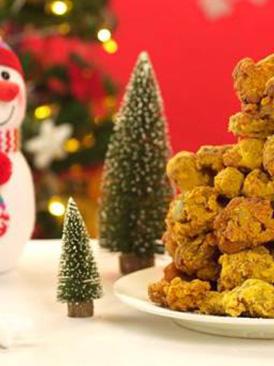 圣誕炸雞樹