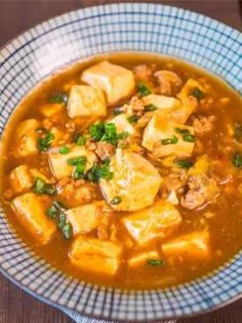 肉末泡菜豆腐