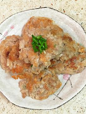 中式香煎藕饼
