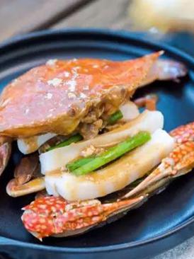 姜葱蟹炒年糕