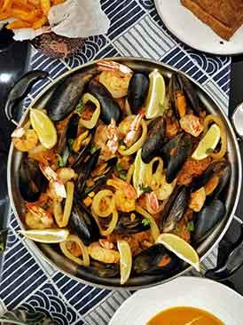 西班牙海鲜饭终极版