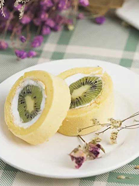 奇异果蛋糕卷