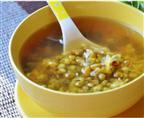荷叶绿豆汤
