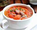 番茄牛肉浓汤
