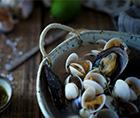 青柠蛤蜊汤