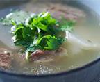 白蘿卜羊骨湯